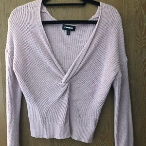 Light purple sweater